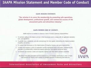 IAAPA Code of Conduct 2016
